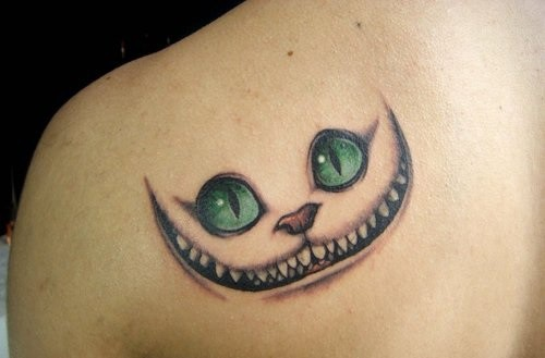 cheshire cat tattoo meaning