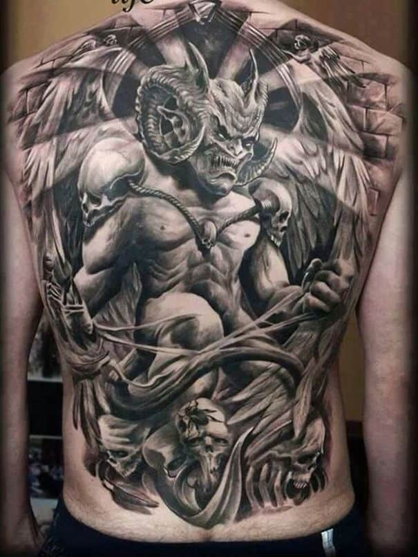 demon tattoo meaning