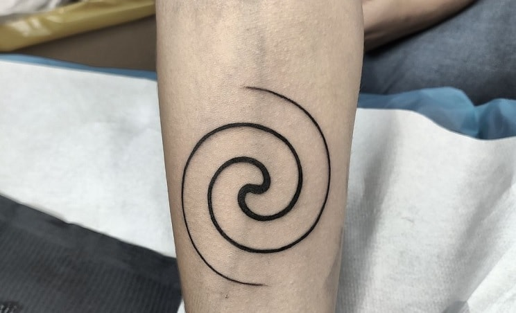 spiral tattoo meaning